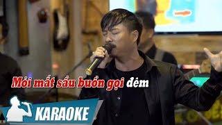 [KARAOKE] Đêm Buồn Phố Thị - Quang Lập