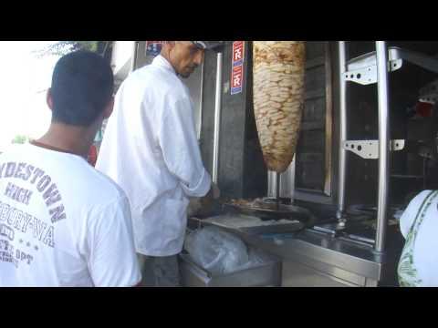 Chicken Shawarma in Tunisia