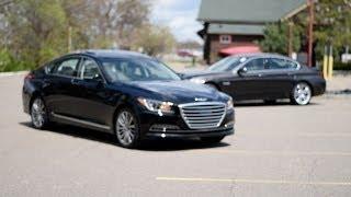 2015 Hyundai Genesis Comparison Hyundai vs. BMW Morrie s 394 Hyundai