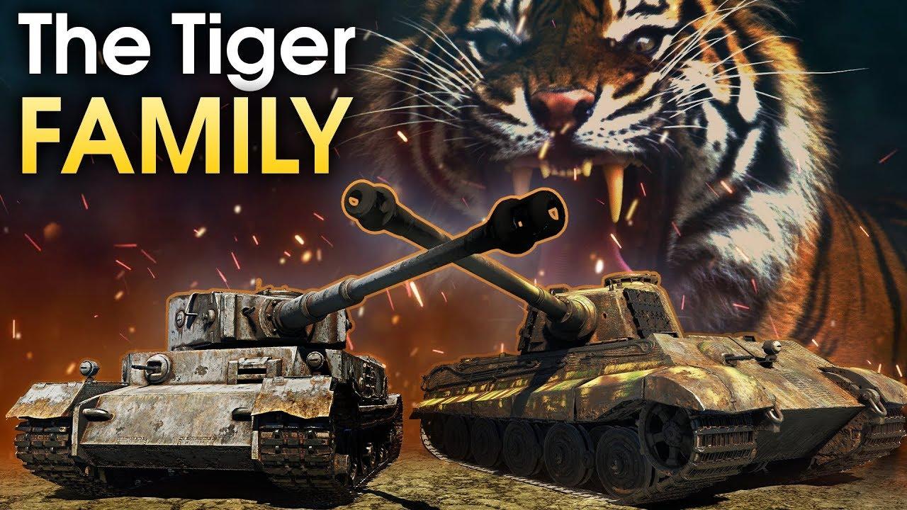 тигр в вар тандер видео