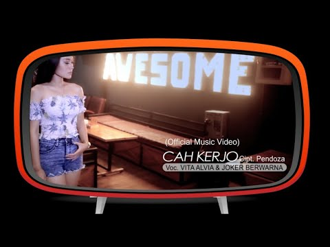 Vita Alvia Ft. Joker - Aku Cah Kerjo (Official Music Video)