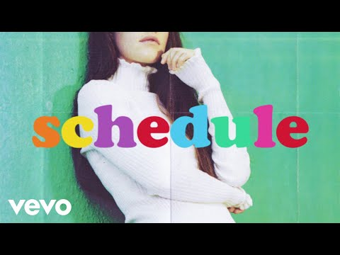 Sigrid - Schedules (Lyric Video)