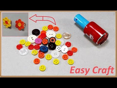 EasyCraft Best || DIY Arts and Crafts || Weird buttons craft
