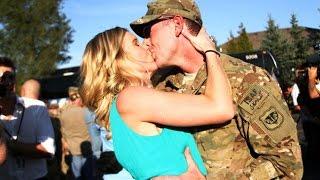 Best Soldiers Surprising Girlfriends Compilation (2018)