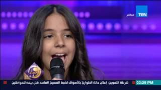 عسل أبيض | شاهد.. الطفلة نور عثمان تغني