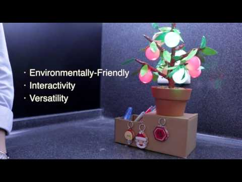 SM2716 An Interactive Furnishing: Changeable Citrus Tree