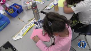 RES First Graders Draw Like Book Character