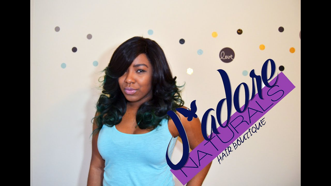 Hair Review And Color For Jadore Naturals Hair Boutique Teal Hair