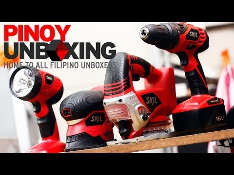 Pinoy Unboxing: Skil ComboKit 18v Cordless Power Tools