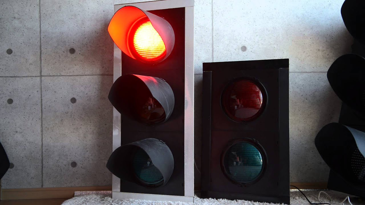 Tseu Led3g Traffic Signal Heads Youtube