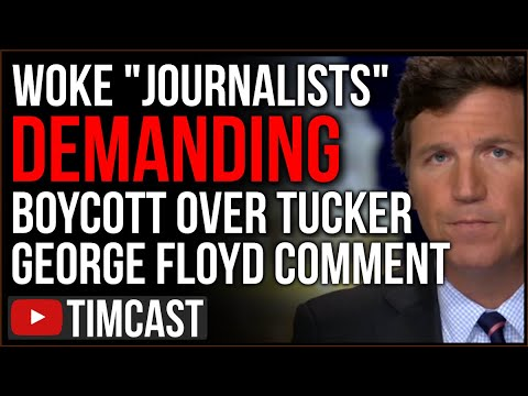 Tucker Carlson Faces Boycott After Woke Journalist OUTRAGE Over Comment On BLM Riots And Impeachment