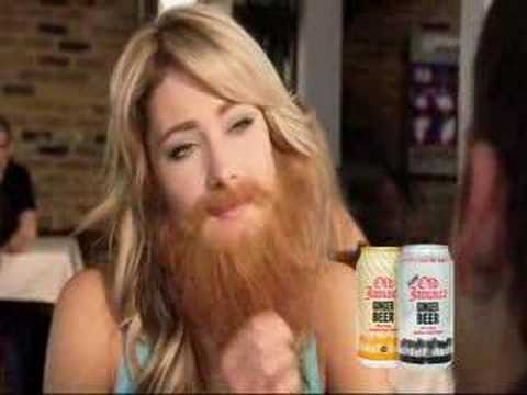 at speed dating commercial guy with beard