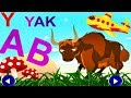 ABC for Kids - Animated Alphabet   Phonics ABC   Learn Animals Names and Sounds   Educational Video