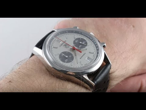 Pre-Owned TAG Heuer Classic Carrera Limited Edition CV2117.FC6182 Luxury Watch Review