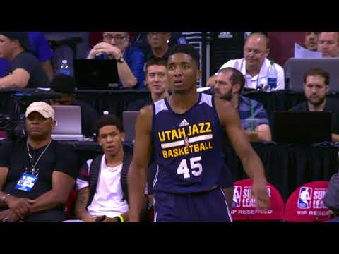 Donovan Mitchell's Best Plays From NBA Summer League