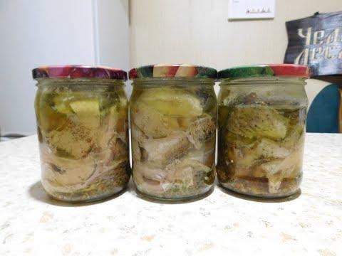 Как сделать консервы из речной рыбы