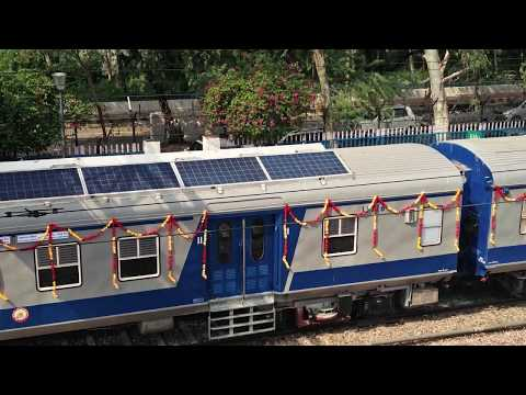 Indian Railways launches first solar powered train