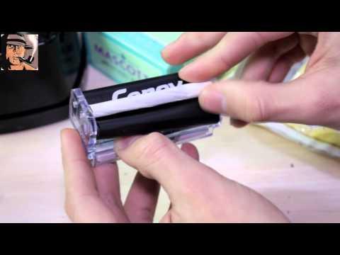 Как завернуть сигарету ручной машинкой