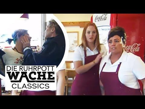 Tortenschlacht in Bäckerei: Frau rastet völlig aus und verwüstet Laden! | Die Ruhrpottwache | SAT.1