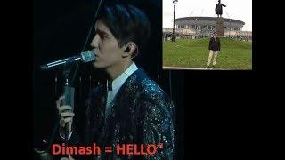 Dimash  Реакция деда =  «Hello»