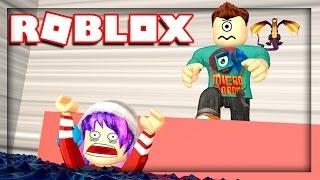 AUDREY NO!!! | Roblox Flood Escape w/ RadioJH Games!