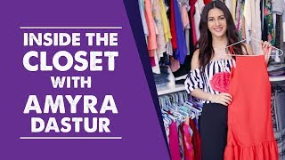 Inside the wardrobe with Amyra Dastur | S01E01 | Pinkvilla | Bollywood | Fashion