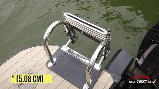 BoatTest.com Tests and Reviews the Ranger 2300LS Pontoon