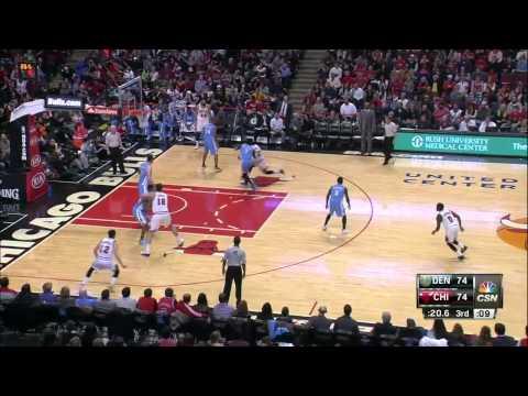 Denver Nuggets vs Chicago Bulls | January 1, 2015 | NBA 2014-15 Season