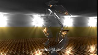 Пример разрушения объектов в Cinema 4D