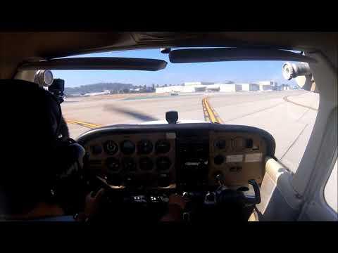 Jb's First Solo Flight Full Cessna 172 Long Beach Airport