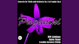 Violin Concerto No.1 in D Major, Op.6 : Allegro maestoso - Adagio - Rondo: Allegro spirituoso