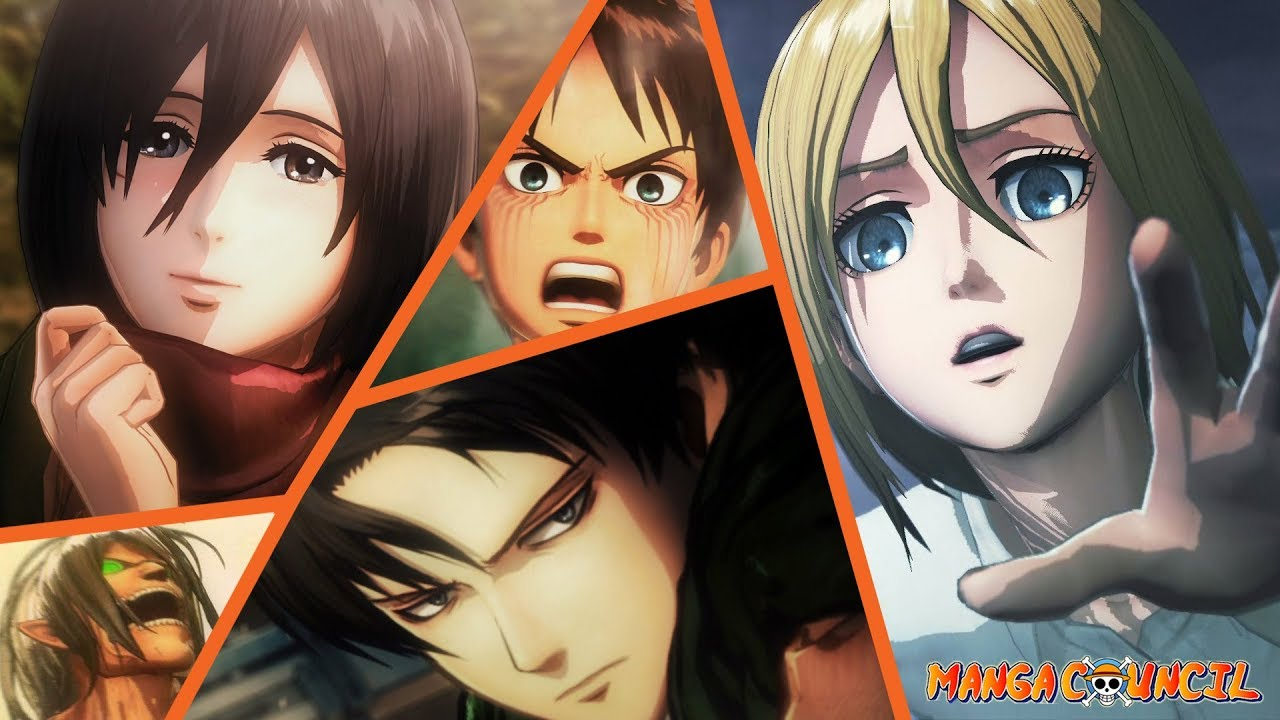 Attack on titan 2 save game unlock everything
