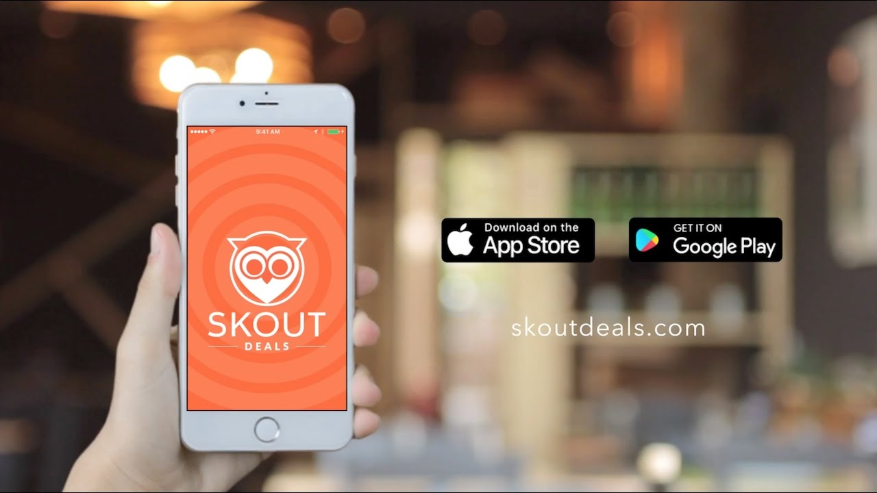 Skout Deals App - Everything 25% OFF or MORE at places near you