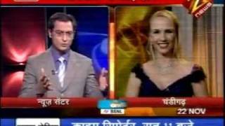 Exclusive interview with Anita Lerche on Zee News