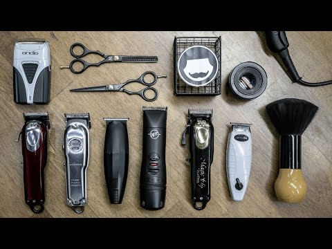 Necessary Tools For Professional Barbers