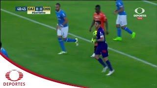 El resbalón de Mendoza | Cruz Azul 0-0 Chiapas FC | Televisa Deportes