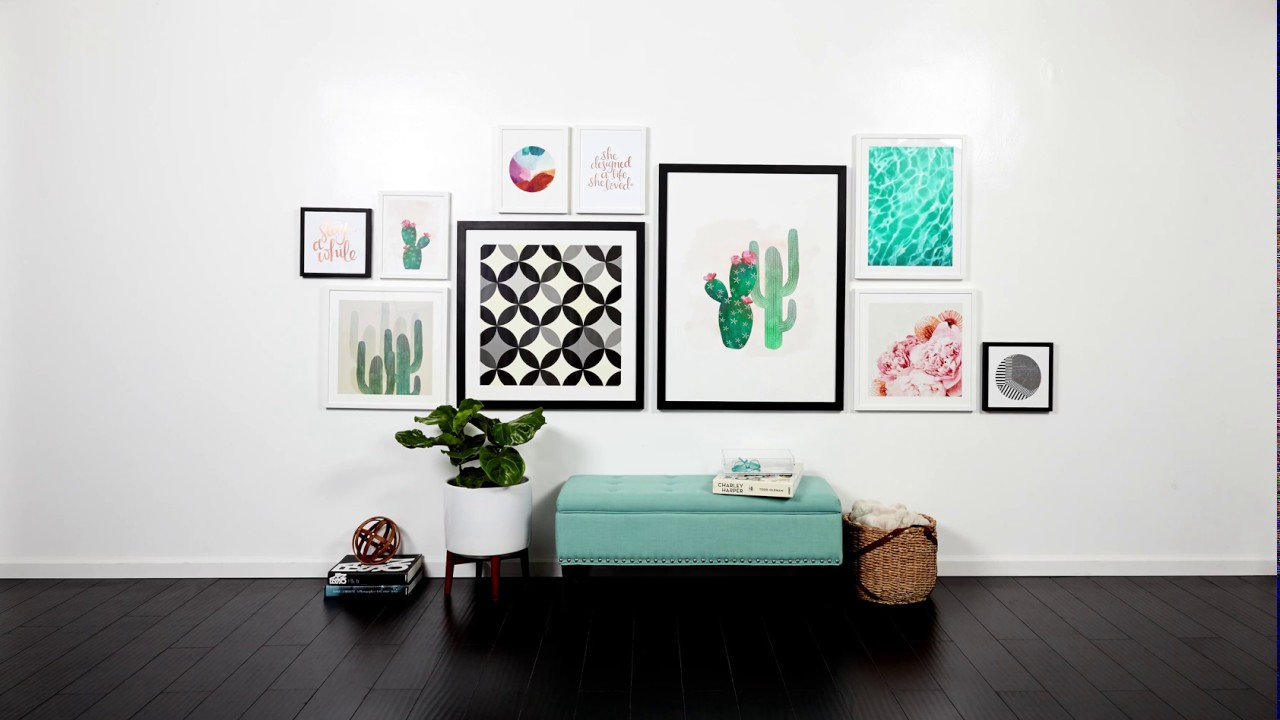 Erin condren art prints gallery wall