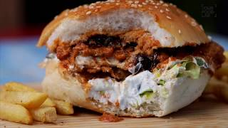 Butter Chicken Burger by Chef Sanjyot Keer