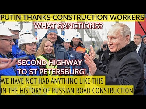 "BREAKING! Putin Opens The Unprecedented Russian Highway ""Neva"" Connecting Moscow And St. Petersburg"