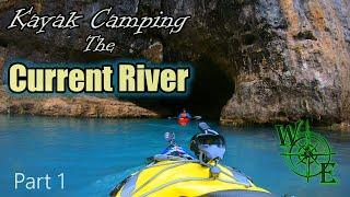 Winter Kayak Camping tнe Current River Missouri Scenic National Park(Part 1)