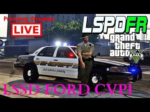 GTAV LSPDFR POLICE MOD LIVE! #30 LOS SANTOS COUNTY SHERIFF PATROL!
