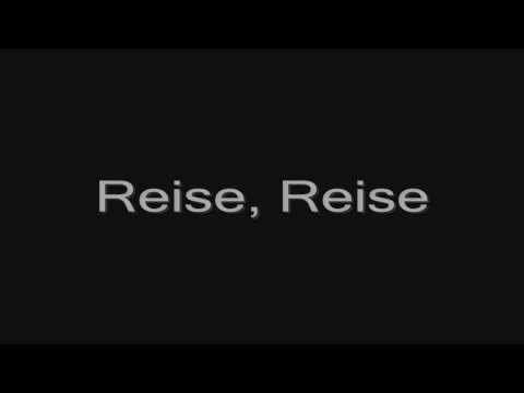 Rammstein - Reise, Reise (lyrics) HD