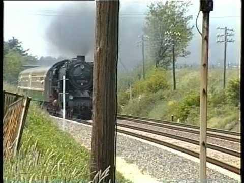 Schnellzugplandampf rund um Dresden - Mai 1995