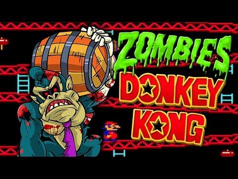 Nintendo Donkey Kong Zombies Custom Gameplay 💀 Call of Duty Black Ops 3 Custom Zombies