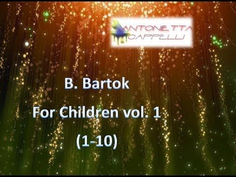 B. Bartok - For Children vol.1 (1-10)