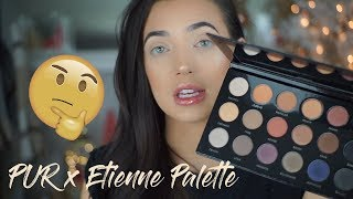 Holiday Makeup Look | Etienne Ortega Eyeshadow Palette | Toria Serviss