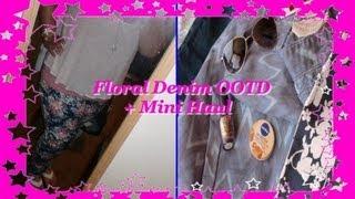 Plus Size OOTD  Floral Denim + Mini Haul Thumbnail