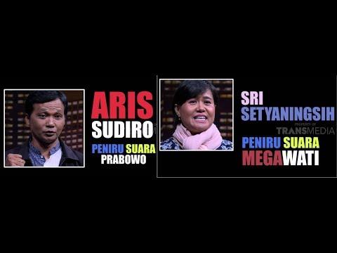 Peniru Suara Prabowo Dan Megawati | HITAM PUTIH (01/10/18) 2-4