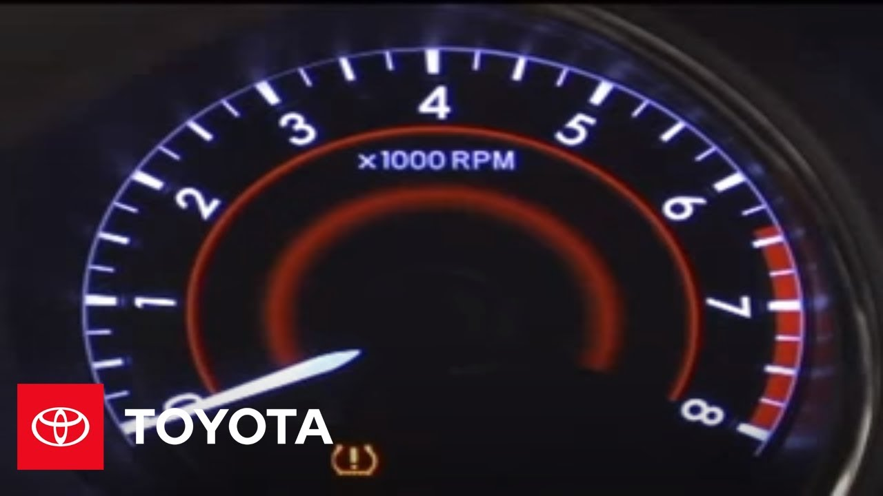 highlander   tire pressure monitor system tpms toyota youtube
