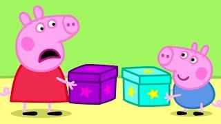 Peppa Pig Full Episodes | Peppa Pig's Secret Box!